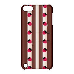 Choco Strawberry Cream Cake Apple iPod Touch 5 Hardshell Case with Stand
