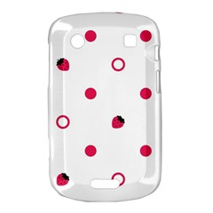 Strawberry Circles Pink BlackBerry Bold Touch 9900 9930 Hardshell Case