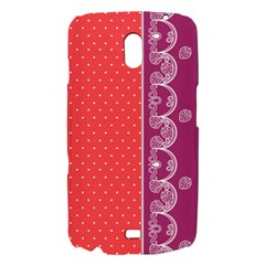 Lace Dots With Violet Rose Samsung Galaxy Nexus i9250 Hardshell Case