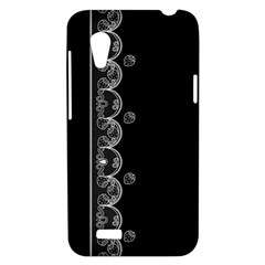 Strawberry Lace White With Black HTC Desire VT T328T Hardshell Case