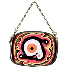 Uru Native Fractal - Twin-sided Evening Purse