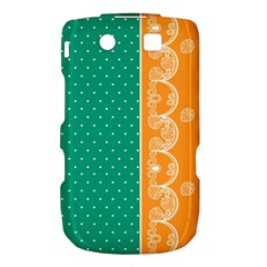 Lace Dots Gold Emerald BlackBerry Torch 9800 9810 Hardshell Case