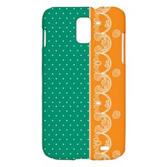 Lace Dots Gold Emerald Samsung Galaxy S II Skyrocket Hardshell Case