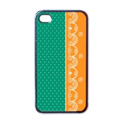 Lace Dots  With Black Pink Black Apple iPhone 4 Case