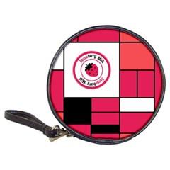 Brand Strawberry Piet Mondrian Pink Cd Wallet