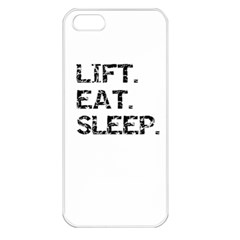 LIFTING Apple iPhone 5 Seamless Case (White)
