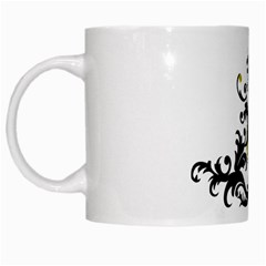 A Touch Of Gold  White Coffee Mug