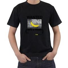 Banana Wanted Black T-Shirt