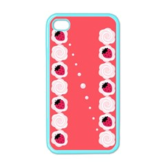 Cake Top Rose Apple iPhone 4 Case (Color)