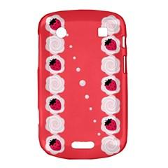Cake Top Rose BlackBerry Bold Touch 9900 9930 Hardshell Case