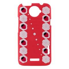 Cake Top Rose HTC One X Hardshell Case
