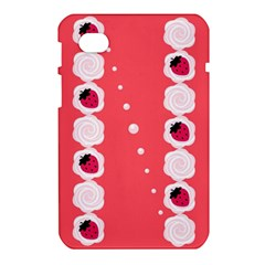 Cake Top Rose Samsung Galaxy Tab 7  P1000 Hardshell Case
