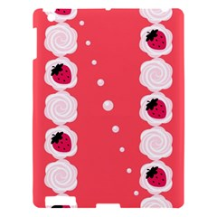 Cake Top Rose Apple Ipad 3/4 Hardshell Case