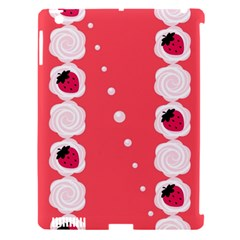 Cake Top Rose Apple iPad 3/4 Hardshell Case (Compatible with Smart Cover)