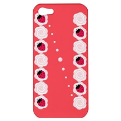 Cake Top Rose Apple iPhone 5 Hardshell Case