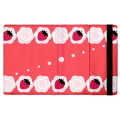 Cake Top Rose Apple Ipad 3/4 Flip Case