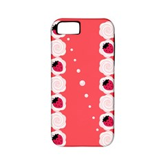 Cake Top Rose Apple Iphone 5 Classic Hardshell Case (pc+silicone)