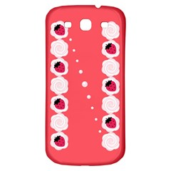 Cake Top Rose Samsung Galaxy S3 S Iii Classic Hardshell Back Case
