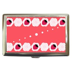 Cake Top Rose Cigarette Money Case