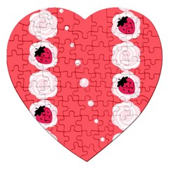 Cake Top Rose Jigsaw Puzzle (Heart)
