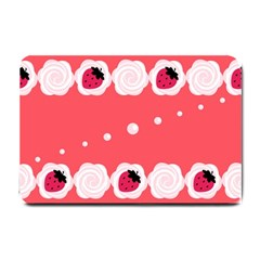 Cake Top Rose Small Doormat
