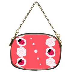 Cake Top Rose Chain Purse (one Side)