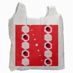 Cake Top Rose Recycle Bag (One Side)
