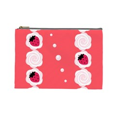 Cake Top Rose Cosmetic Bag (Large)