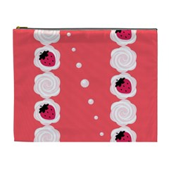 Cake Top Rose Cosmetic Bag (XL)