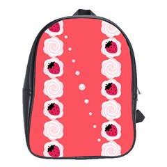 Cake Top Rose School Bag (Large)