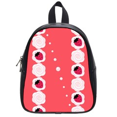Cake Top Rose School Bag (Small)