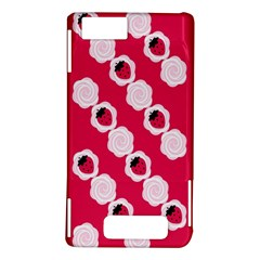 Cake Top Pink Motorola Droid X / X2 Hardshell Case
