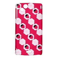 Cake Top Pink Sony Xperia Arc Hardshell Case