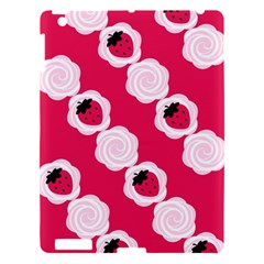Cake Top Pink Apple iPad 3/4 Hardshell Case