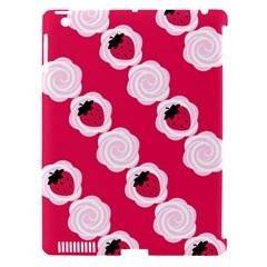 Cake Top Pink Apple Ipad 3/4 Hardshell Case (compatible With Smart Cover)