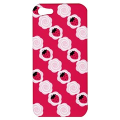 Cake Top Pink Apple iPhone 5 Hardshell Case