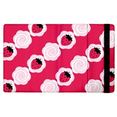 Cake Top Pink Apple iPad 3/4 Flip Case