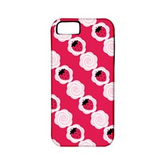 Cake Top Pink Apple iPhone 5 Classic Hardshell Case (PC+Silicone)