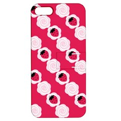 Cake Top Pink Apple Iphone 5 Hardshell Case With Stand