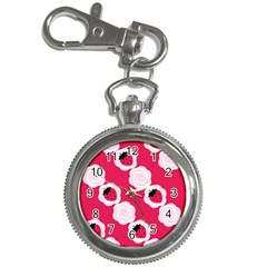 Cake Top Pink Key Chain Watch
