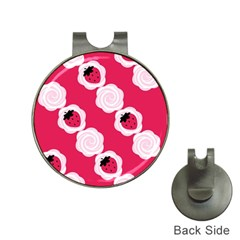 Cake Top Pink Golf Ball Marker Hat Clip