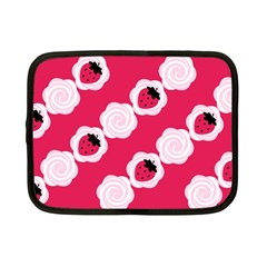 Cake Top Pink Netbook Case (Small)