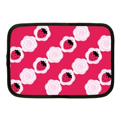 Cake Top Pink Netbook Case (medium)