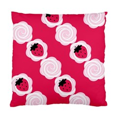 Cake Top Pink Cushion Case (two Sides)