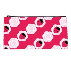Cake Top Pink Pencil Case