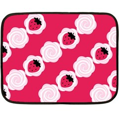 Cake Top Pink Mini Fleece Blanket(Two Sides)