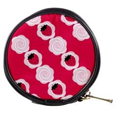 Cake Top Pink Mini Makeup Bag