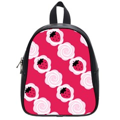 Cake Top Pink School Bag (small)