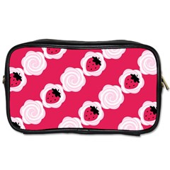 Cake Top Pink Toiletries Bag (Two Sides)