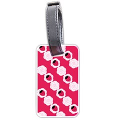 Cake Top Pink Luggage Tag (one side)